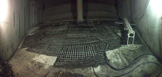 robotic hydro demolition tunnel